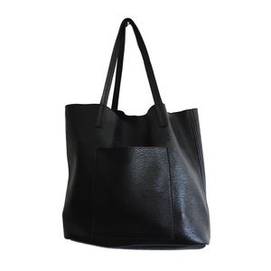 Street Level (Nordstrom) Faux Leather Tote Bag
